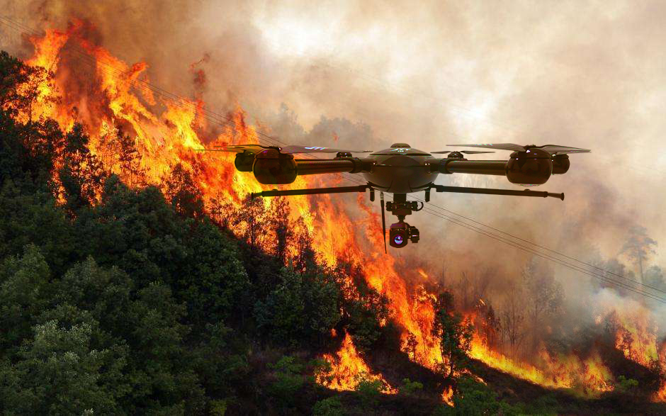 firefighting-drones