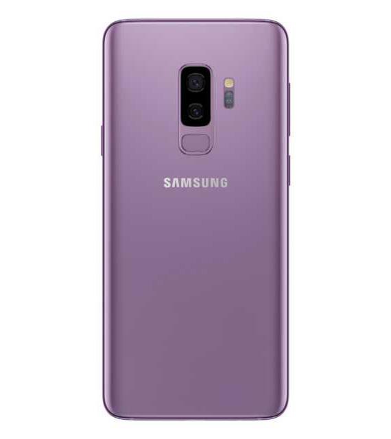 Samsung-Galaxy-S9-plus-back-rose